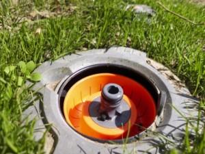 Wassersteckdose