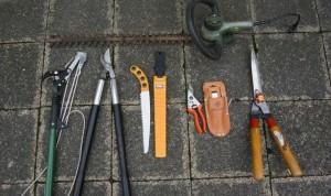 Gehölzschnitt-Werkzeuge